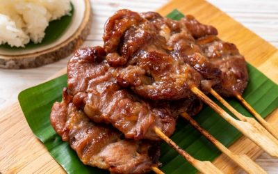 Thai Grilled Pork (Moo Bing)