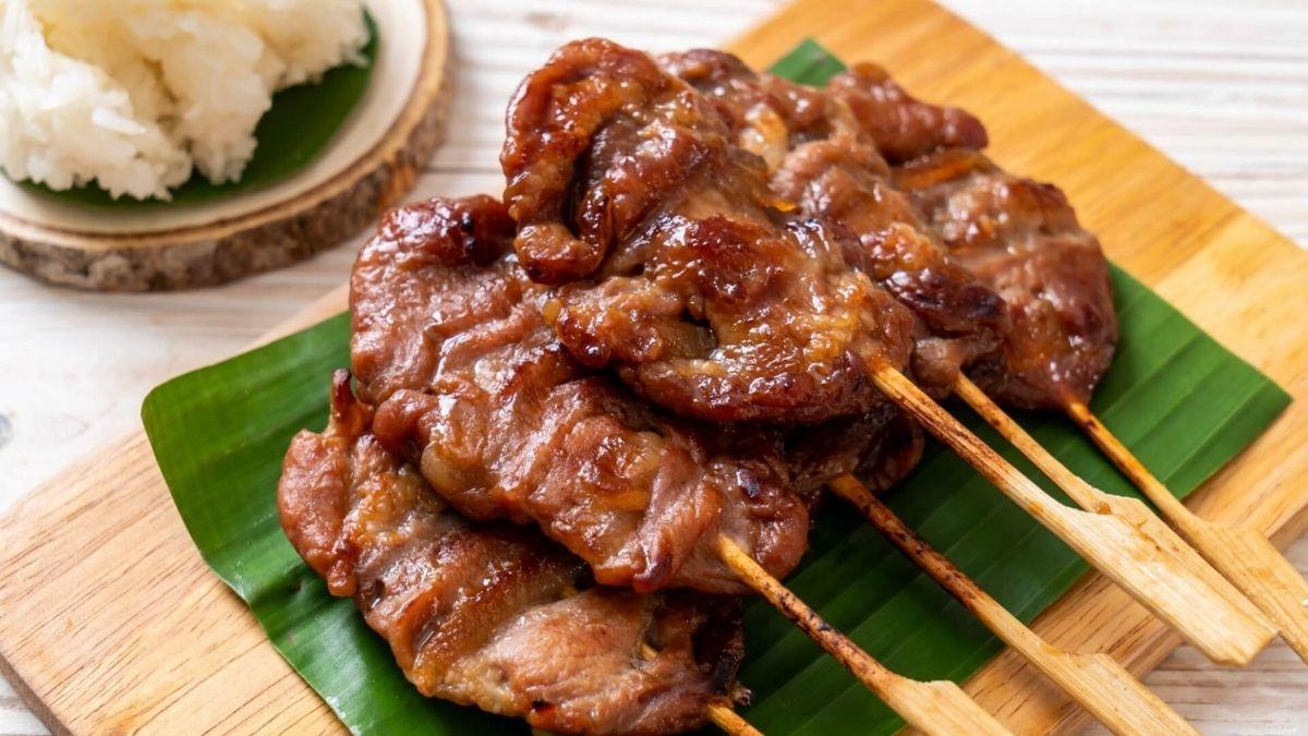 Thai Grilled Pork - Moo Bing